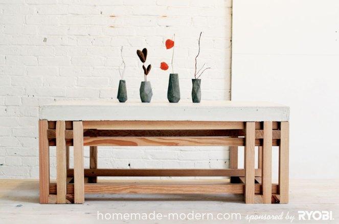 mesa concreto